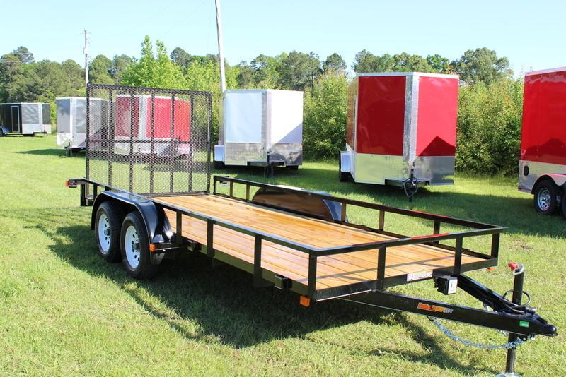 2017 Doolittle Trailers Rally Sport 770 Series 77x16 7000 lbs