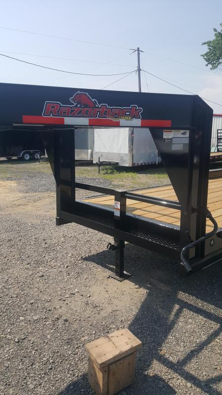 2018 Doolittle Trailer Mfg Razorback Buggy 82x22 14k Hauler Equipment Trailer