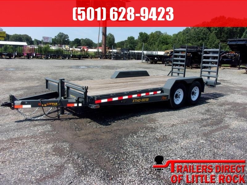 2018 Doolittle Trailer Mfg Xtreme 82x18 14k Equipment Trailer in Philipp, MS