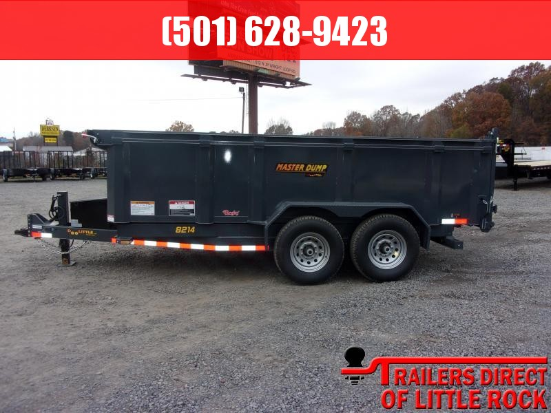 "2019 Doolittle Trailer Mfg Master Dump 84x14TA 14K 36"" High Sides Scissor Lift Dump Trailer"