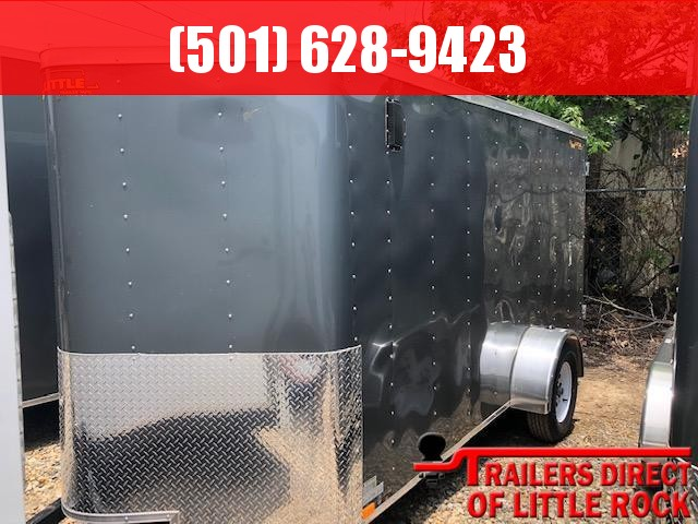 2019 Doolittle Trailer Mfg 2019 Doolittle 6x10 Cargo Barn Door Enclosed Cargo Trailer