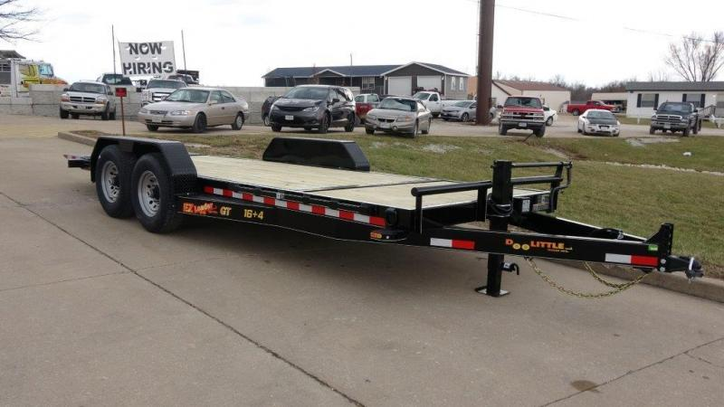 RED TAG SALES EVENT!! 2018 Doolittle Trailers 80x20 (16+4) EZ Loader GT 10000 lbs