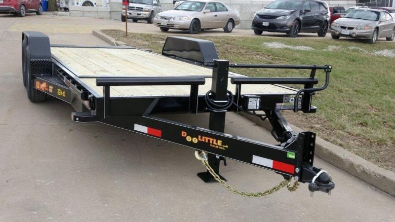 2018 Doolittle Trailers 80x20 (16+4) EZ Loader GT 10000 lbs