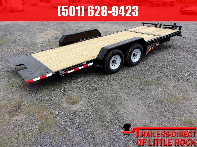 2018 Doolittle Trailers 80x20 (16+4) EZ Loader GT 10000 lbs in Barton, AR