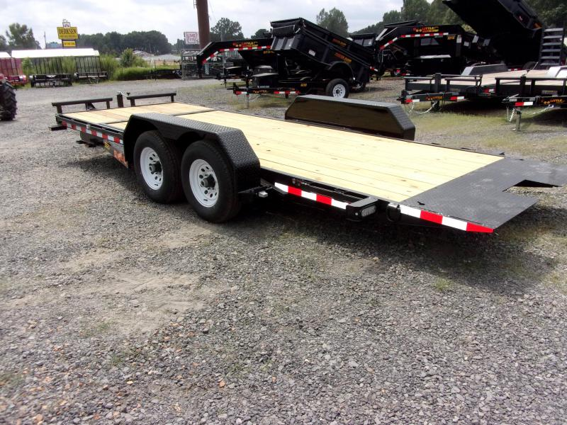 2018 Doolittle Trailers 80x20 (16+4) EZ Loader GT 10000 lbs