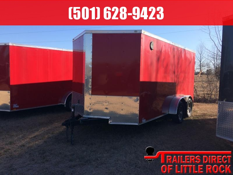 2018 Doolittle Razorback 7X16TA RED BARN DOOR