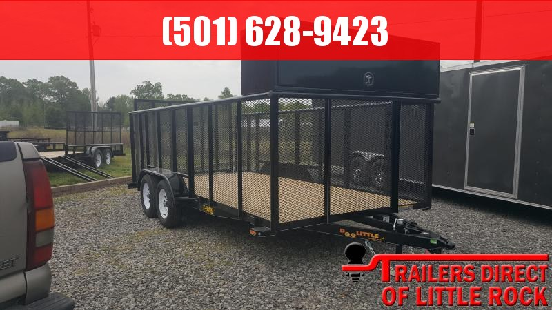 2018 Doolittle Trailer Mfg Landscape 84x16 Utility Trailer