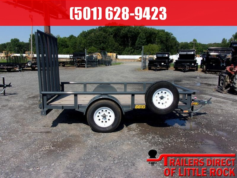 2018 Doolittle Trailer Mfg Pipe Top Utility 66x10 Utility Trailer