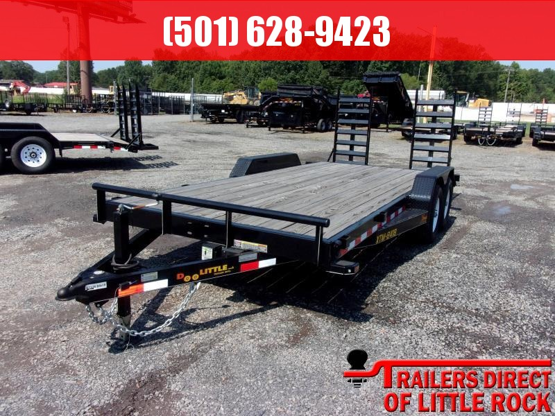 2017 Doolittle Trailer XTREME 84X18 (16+2) 9800 LB FLIP RAMPS  in Sharon, MS