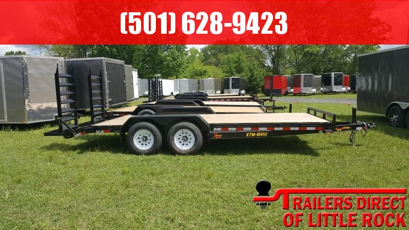 2018 Doolittle Trailer Mfg Xtreme 84x18 10k Equipment Trailer in Morgan City, MS