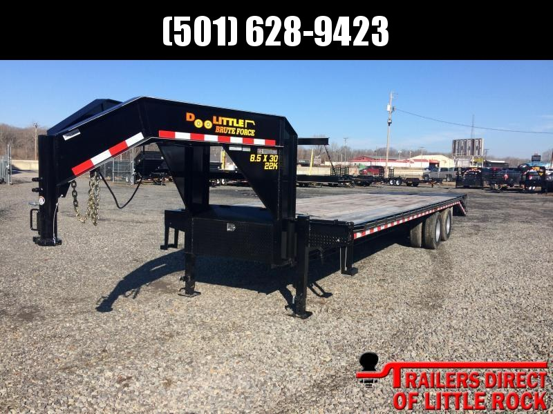 2018 Doolittle Trailer Mfg Brute Force 102x32 Equipment Trailer