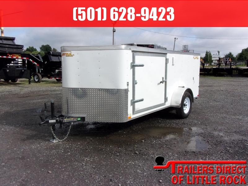 2019 Doolittle Trailer Mfg Bullitt 6x12SA Barn Door Enclosed Cargo Trailer