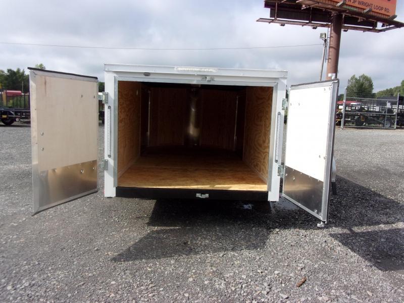 2019 Doolittle Trailer Mfg Bullitt 6x12SA Barn Door Enclosed Cargo Trailer