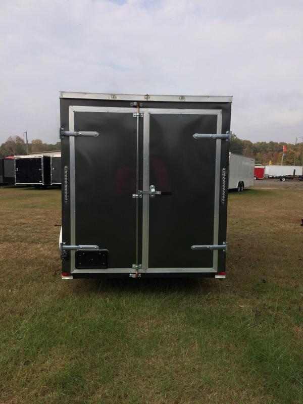 2017 Doolittle Razorback 6X12SA CHARCOAL BARN DOOR