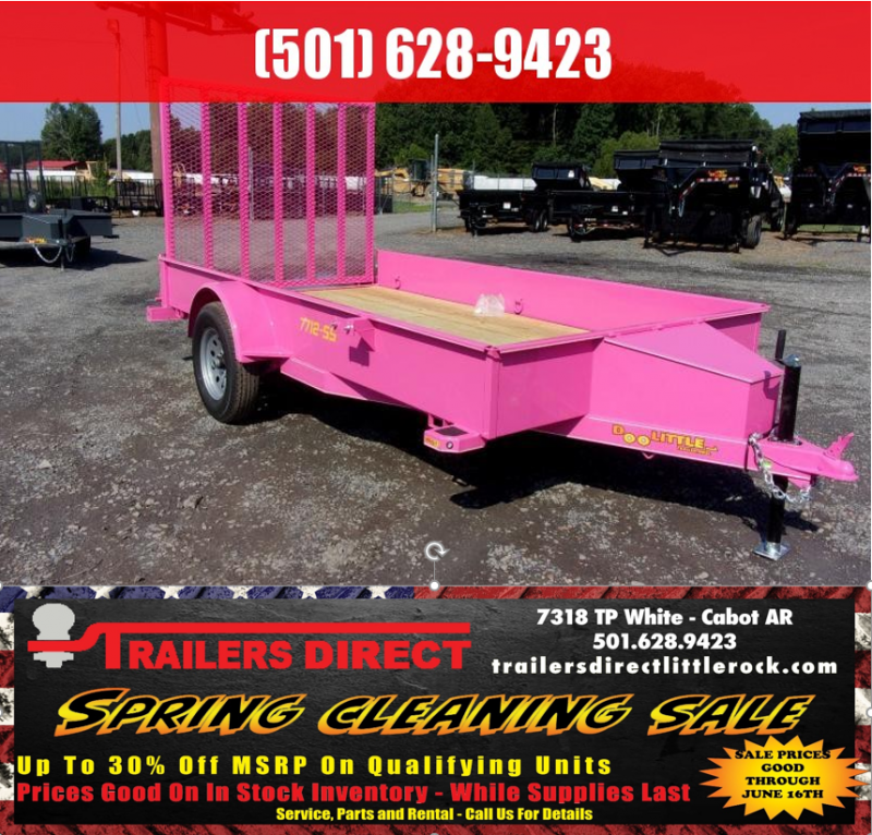 RED TAG SALES EVENT!! 2018 Doolittle Trailer Mfg SS 77x12 Utility Trailer in Ashburn, VA