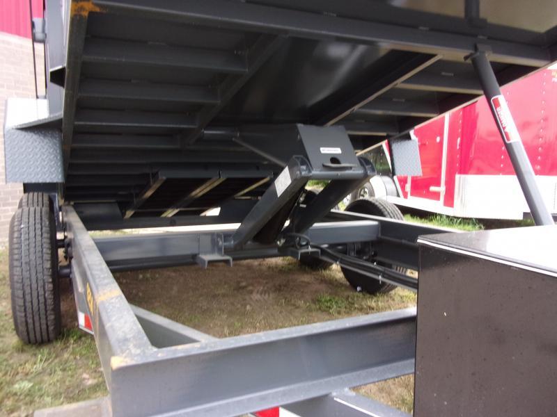 2019 Doolittle Trailer Mfg Master Dump 84x14TA 14K Scissor Lift Dump Trailer