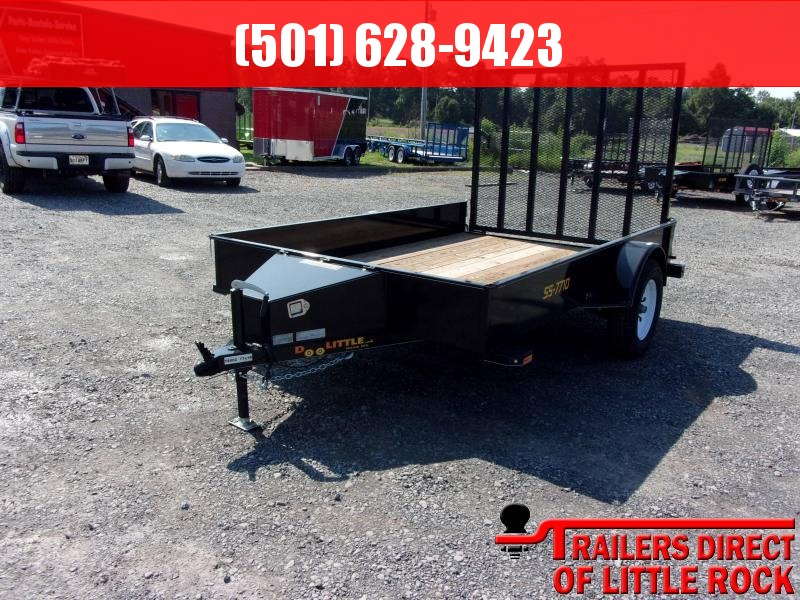 2018 Doolittle Trailer Mfg SS-77X10 Utility Trailer