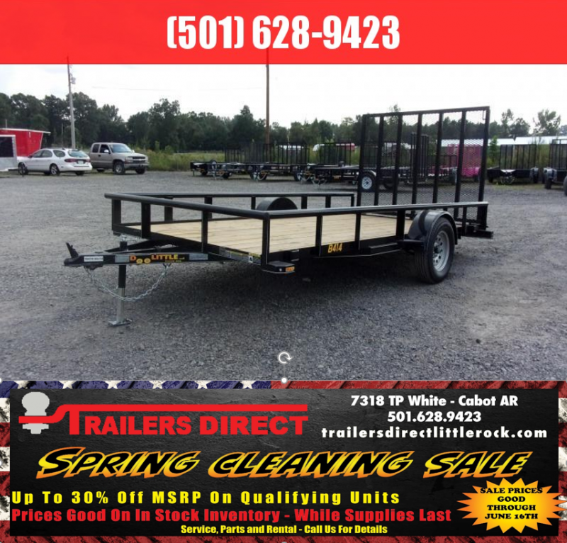 RED TAG SALES EVENT!! 2019 Doolittle Trailer Mfg Utility 84X14 Pipe Top Utility Trailer