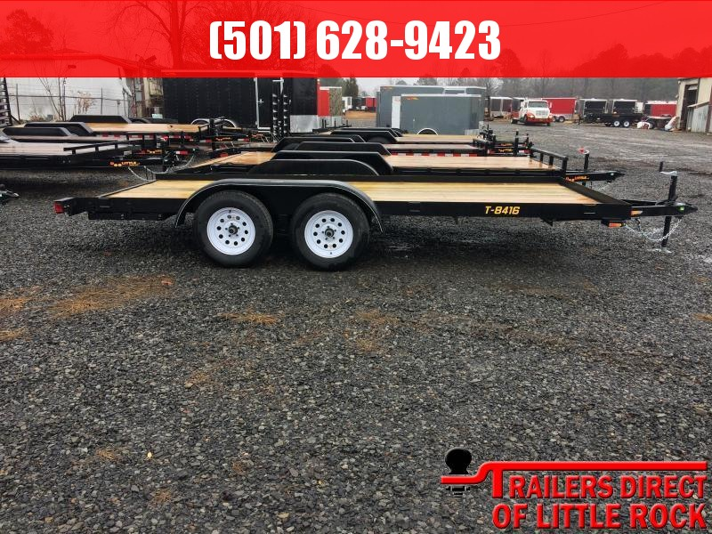 2018 Doolittle Trailer Mfg Rally Sport 84x16 Utility Trailer