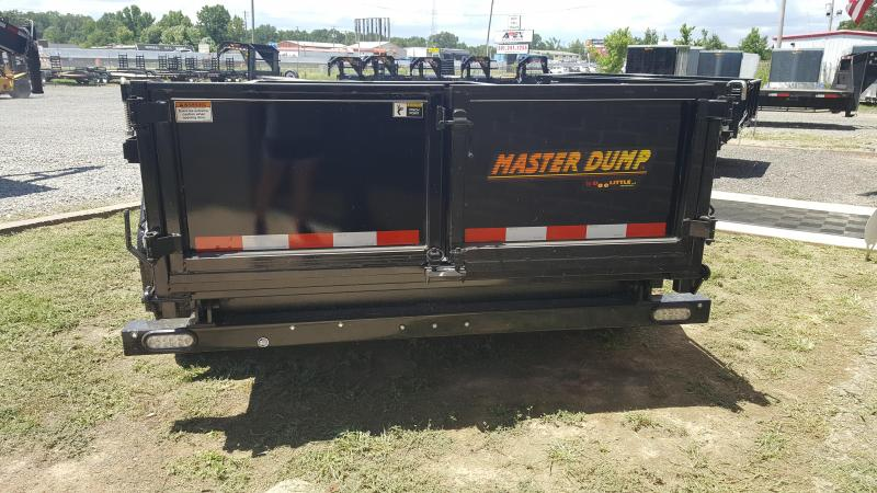 2018 Doolittle Trailer Mfg Masterdump 7212 10k Dump Trailer