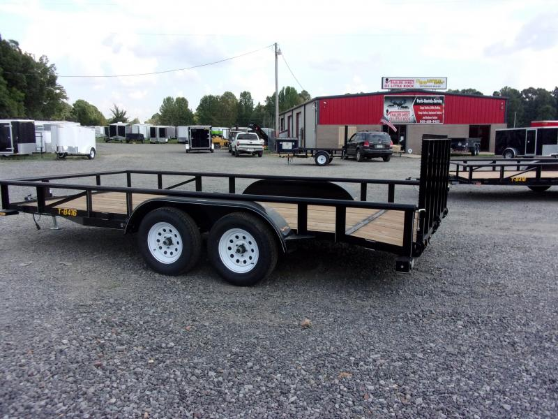 2019 Doolittle Trailer Mfg Utility 84x16TA 2 Dovetail Utility Trailer
