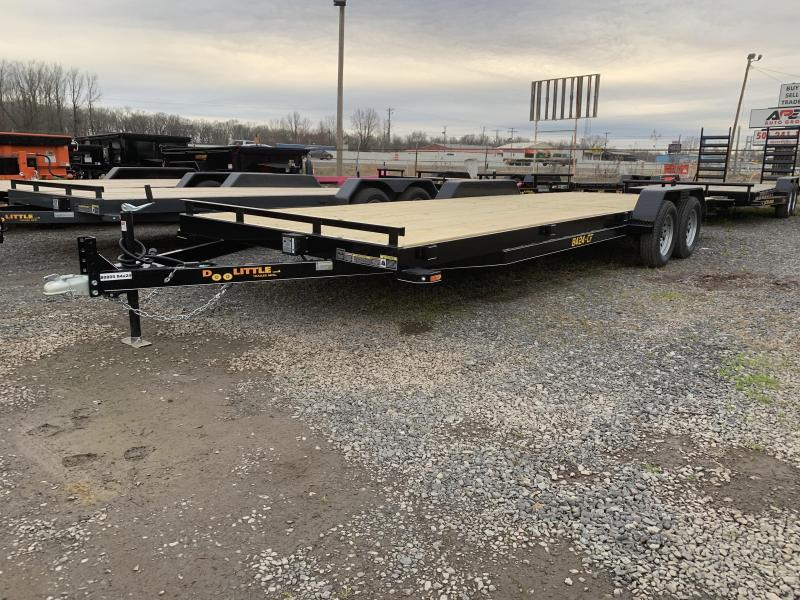 2019 Doolittle Trailer Mfg CF 84x24 Equipment Trailer