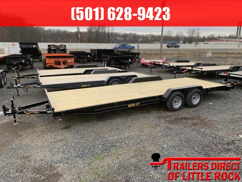 2019 Doolittle Trailer Mfg CF 84x24 Equipment Trailer in Barton, AR