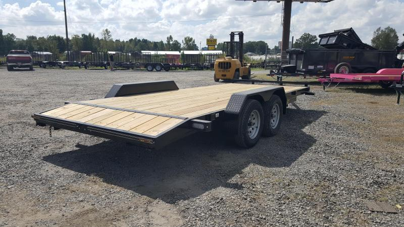 2019 Doolittle Trailer Mfg CF 84x18 7k Equipment Trailer