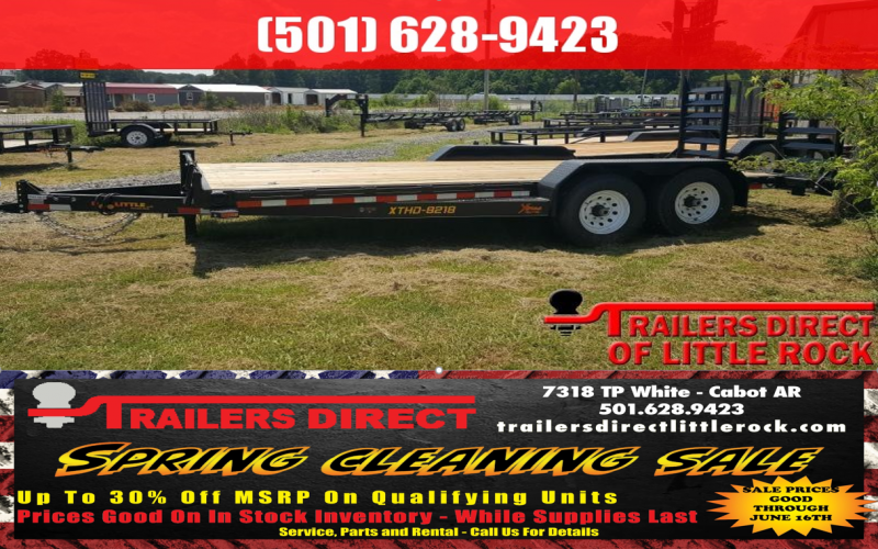 BLOWOUT!! 2018 Doolittle Trailer XTREME 82X18 (16+2) 14K