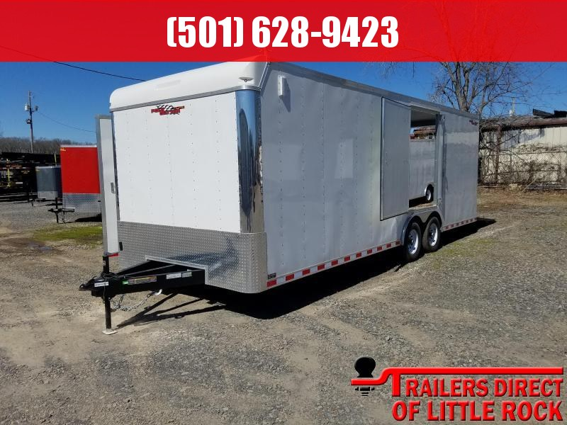 2018 Doolittle Trailer Mfg Cargomaster 8.5x24 10k Racing Trailer