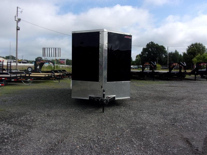 2019 Doolittle Trailer Mfg Razorback 7x16TA Black Ramp Door 12in Xtra Height Enclosed Cargo Trailer