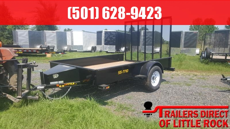 2018 Doolittle Trailers SS UTILITY 77X10 5' GATE