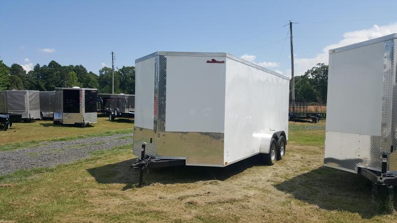2018 Doolittle Razorback 7X16TA WHITE RAMP DOOR