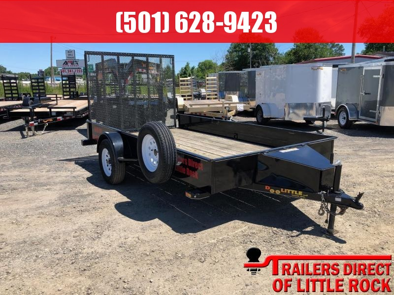 2017 DooLitttle Trailers Solid Side 77x12 S/A Utility Trailer