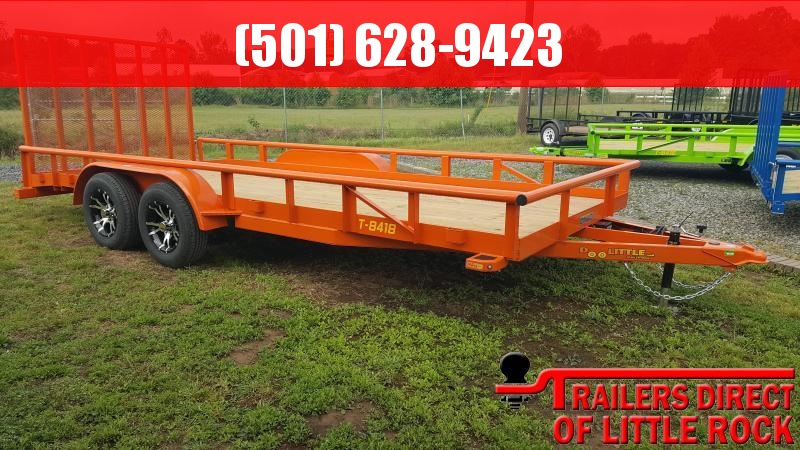 2018 Doolittle Trailer Mfg Pipe Top 84x18 Utility Trailer