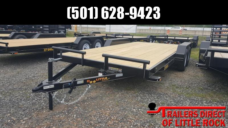 2018 Doolittle Trailer Mfg CF 84x18 7k Equipment Trailer