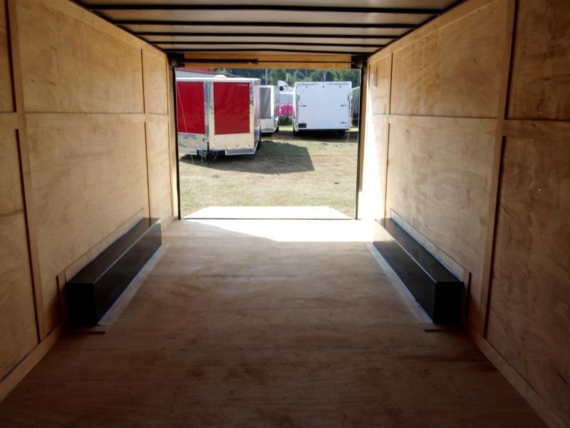 2018 Doolittle Razorback 8.5x20TA3 Charcoal Ramp Door Enclosed Cargo Trailer