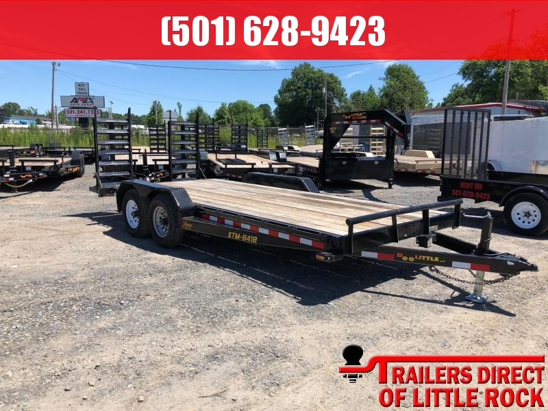 2017 Doolittle Trailer Mfg Xtreme 84x18 10K GVWR