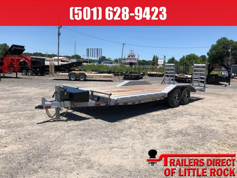 2018 Doolittle Trailer Mfg 102x22 Xtreme 14K GVWR Equipment Trailer in Prattsville, AR