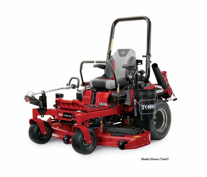 "2019 Toro 60"" TITAN HD 2000 Series MyRIDE Zero Turn Mower 74467 Lawn"