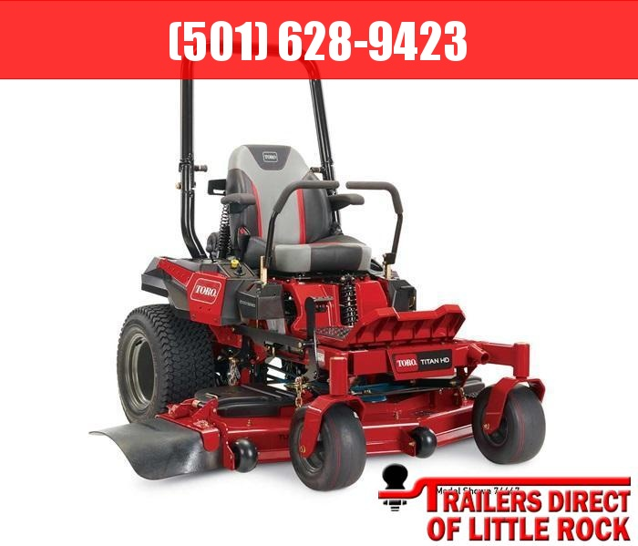 "2019 Toro 60"" TITAN HD 2000 Series MyRIDE Zero Turn Mower 74467 Lawn"
