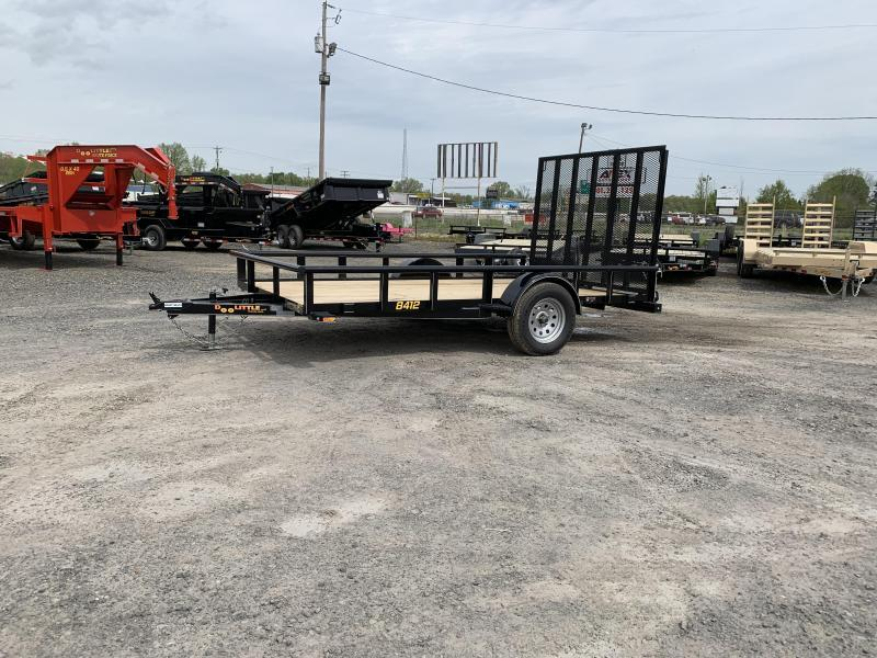 2019 Doolittle Trailer Mfg Pipe Top 84x12 Utility Trailer