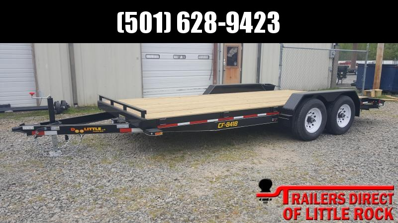 2018 Doolittle Trailer Mfg CF 84x18 10k Equipment Trailer
