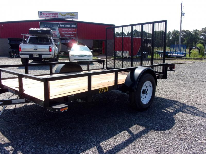 2018 Doolittle Trailers Rally Sport 770 Series 77x10 2990 lbs