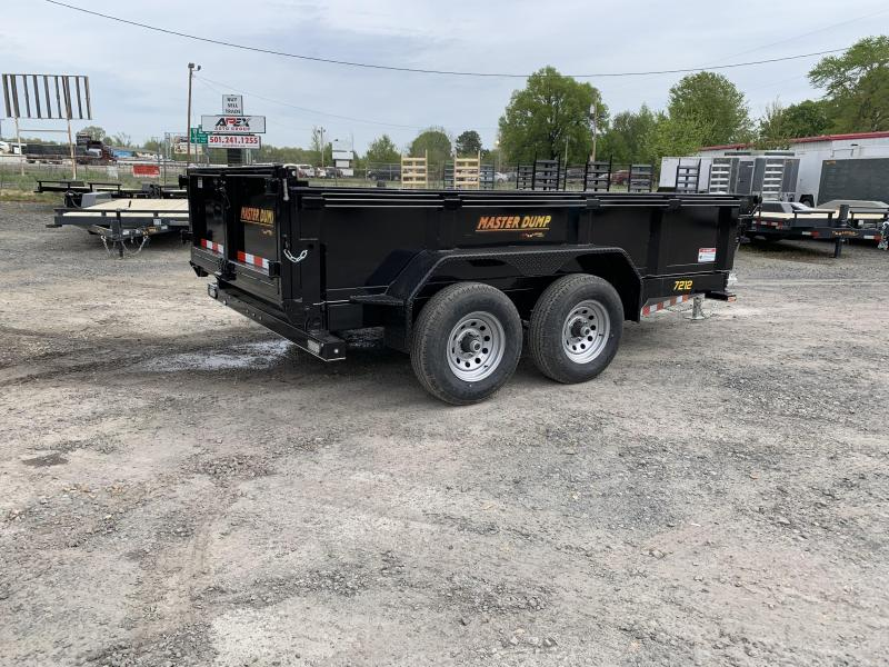 2019 Doolittle Trailer Mfg Masterdump 72x12 10k Dump Trailer