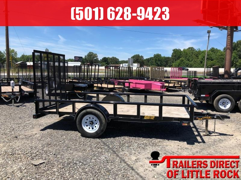 2018 Doolittle Trailer Mfg Pipe top Utility 66x12 Utility Trailer