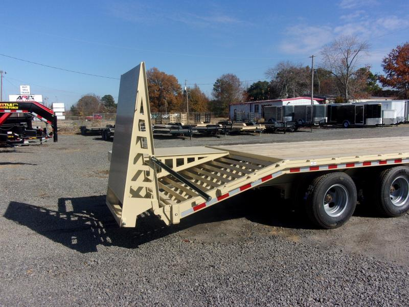 2019 Doolittle Trailer Mfg Brute Force 102x25 24k Pintle Hitch Flatbed Trailer