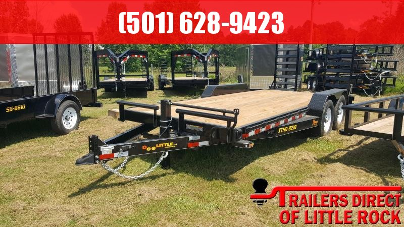 2018 Doolittle Trailer XTREME 82X18 (16+2) 14K  in Barton, AR