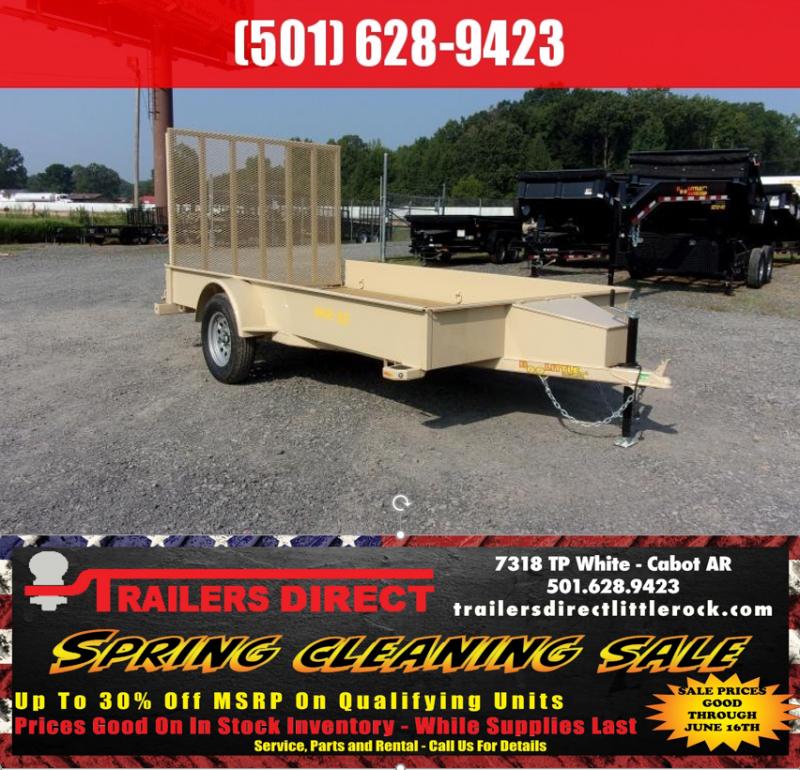 BLOWOUT!! 2019 Doolittle Trailer Mfg SS-84x12 Utility Trailer