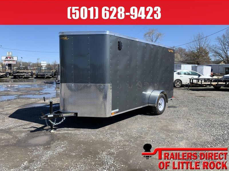 2019 Doolittle Trailer Mfg 6x12SA Gray Ramp Door Enclosed Cargo Trailer
